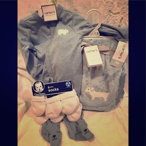 Baby boy gift set NEW with tags! Dogs 🐶